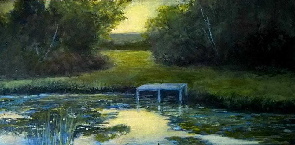 """Evening Light"" original fine art by Joan Matero"