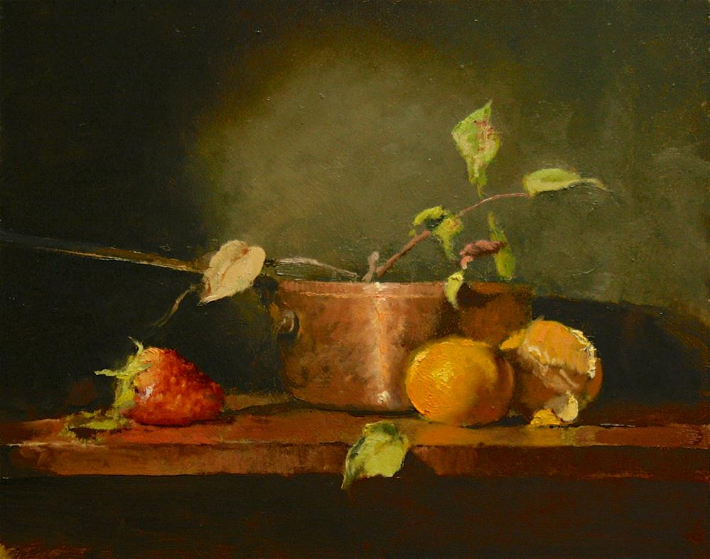"""""""The Copper Pot"""" original fine art by Paul Bachem"""