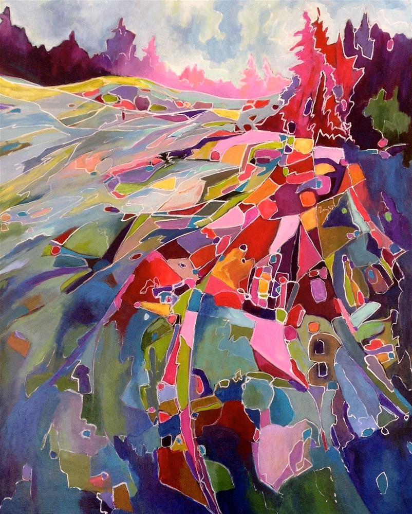 """High Waters"" original fine art by Patricia MacDonald"