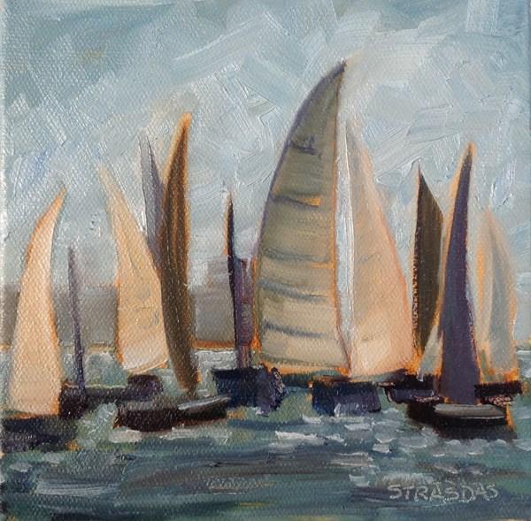 """Good Wind"" original fine art by Marcela Strasdas"