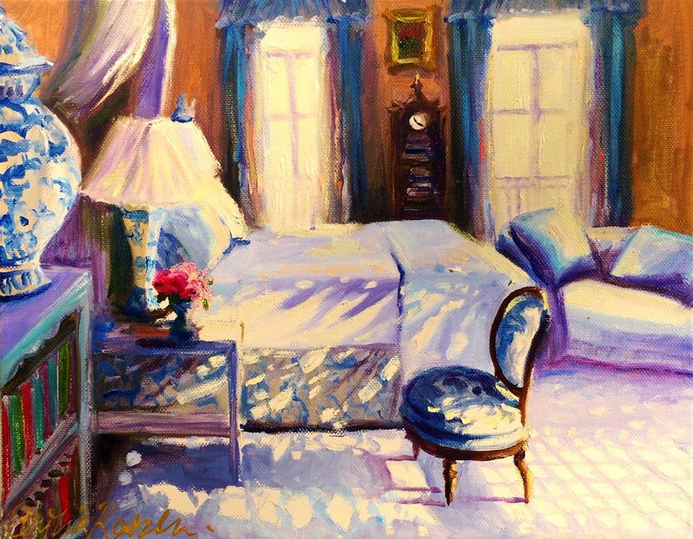"""""""STILLE SLAAPKAMER"""" original fine art by Cecilia Rosslee"""