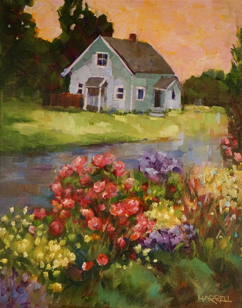 """Newberg Oregon"" original fine art by Sue Harrell"