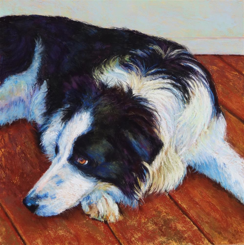 """Waiting Patiently"" original fine art by Denise Beard"