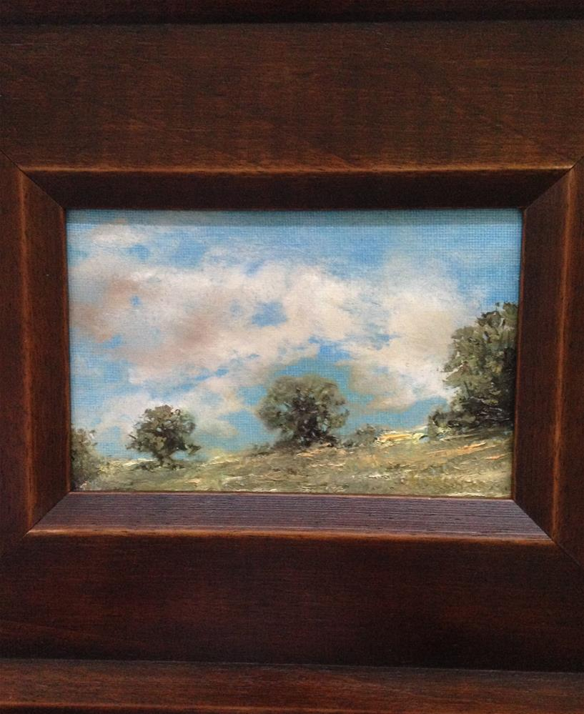 """Hillside"" original fine art by Frank and Liangni Nelson"
