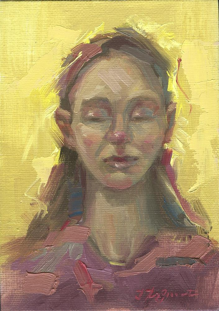 """Glow"" original fine art by B. Rex Stewart"