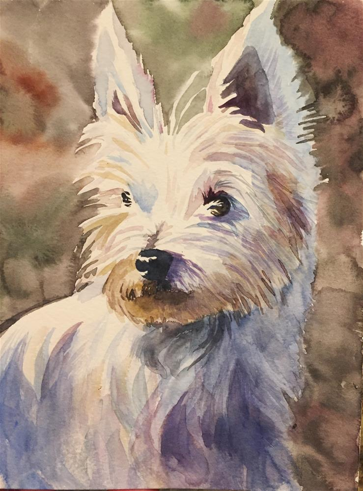 """Scotty"" original fine art by Natasha Ramras"
