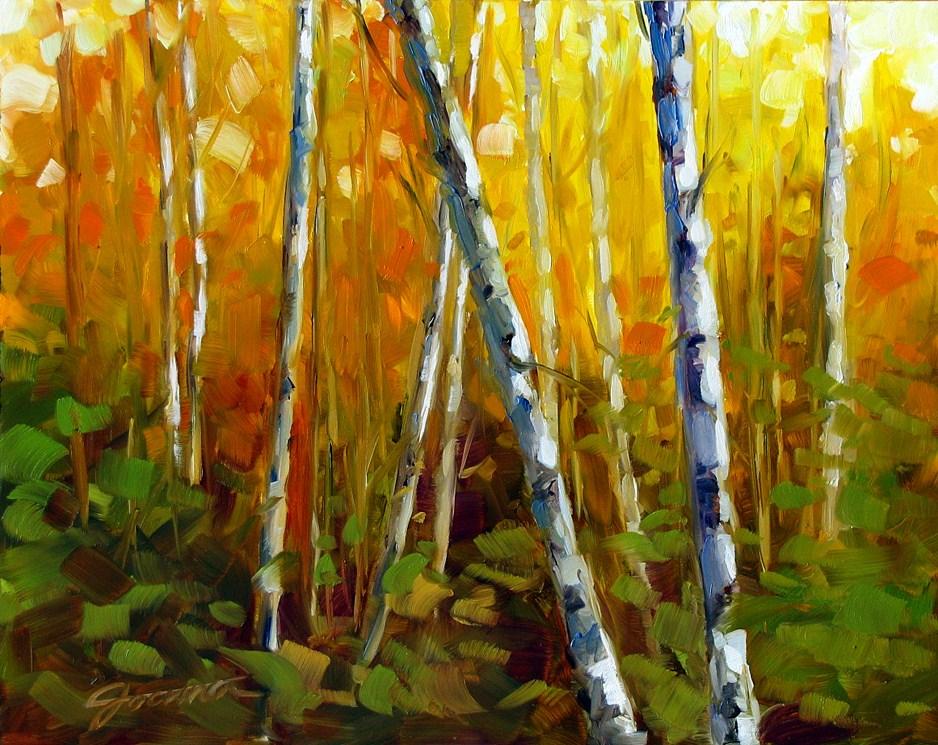 """""""Fall's Messenger"""" original fine art by Joanna Bingham"""