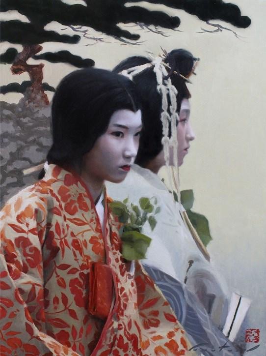 """Natsu"" original fine art by Phil Couture"