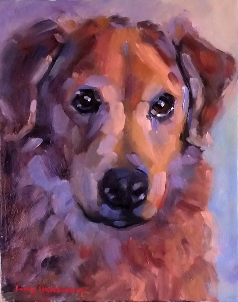 """Patience, Kindness, Love"" original fine art by jerry hunsinger"