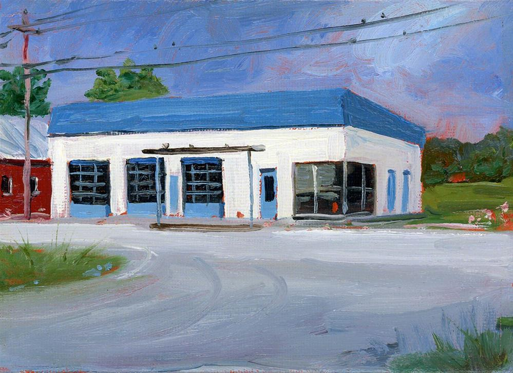 """""""Closed"""" original fine art by Chris Ousley"""