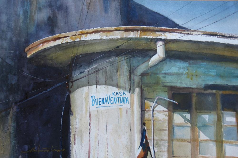 """Kasa Buenaventura"" original fine art by Ann Buenaventura"