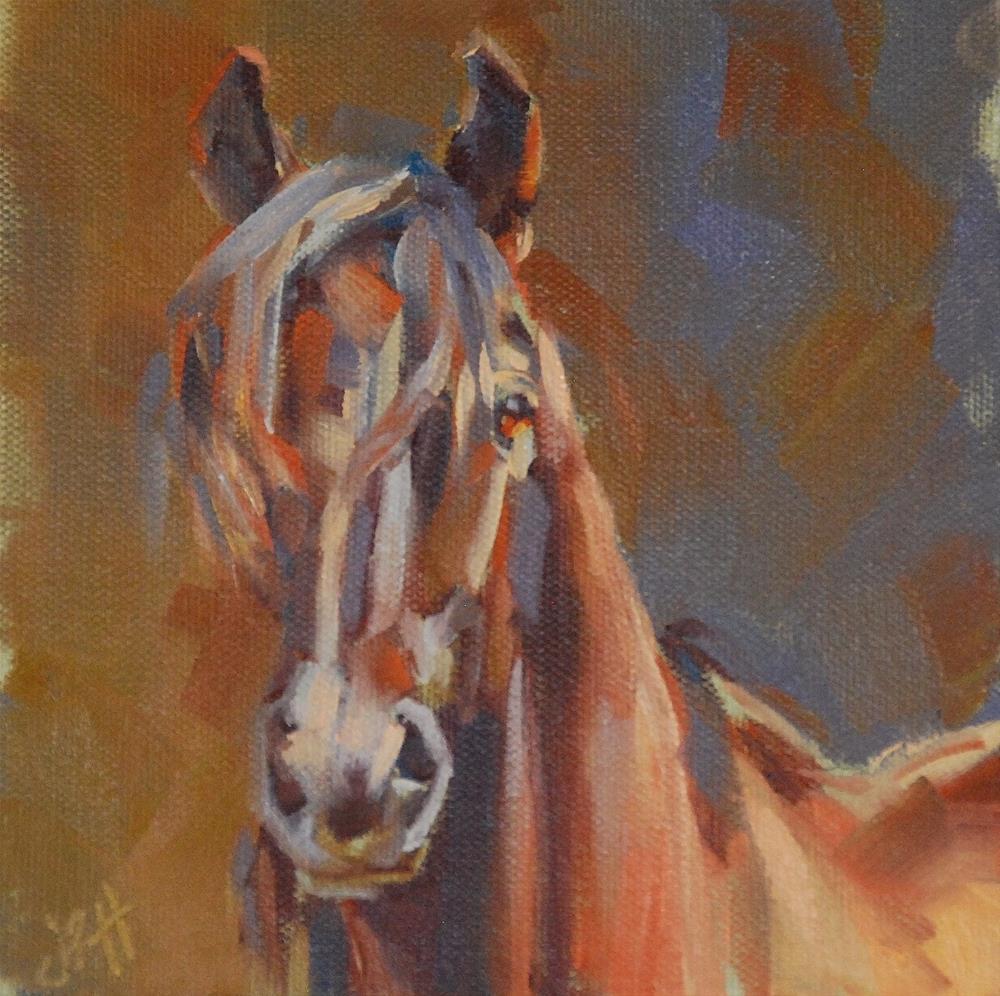 """Wild Child"" original fine art by Jennifer Pratt"