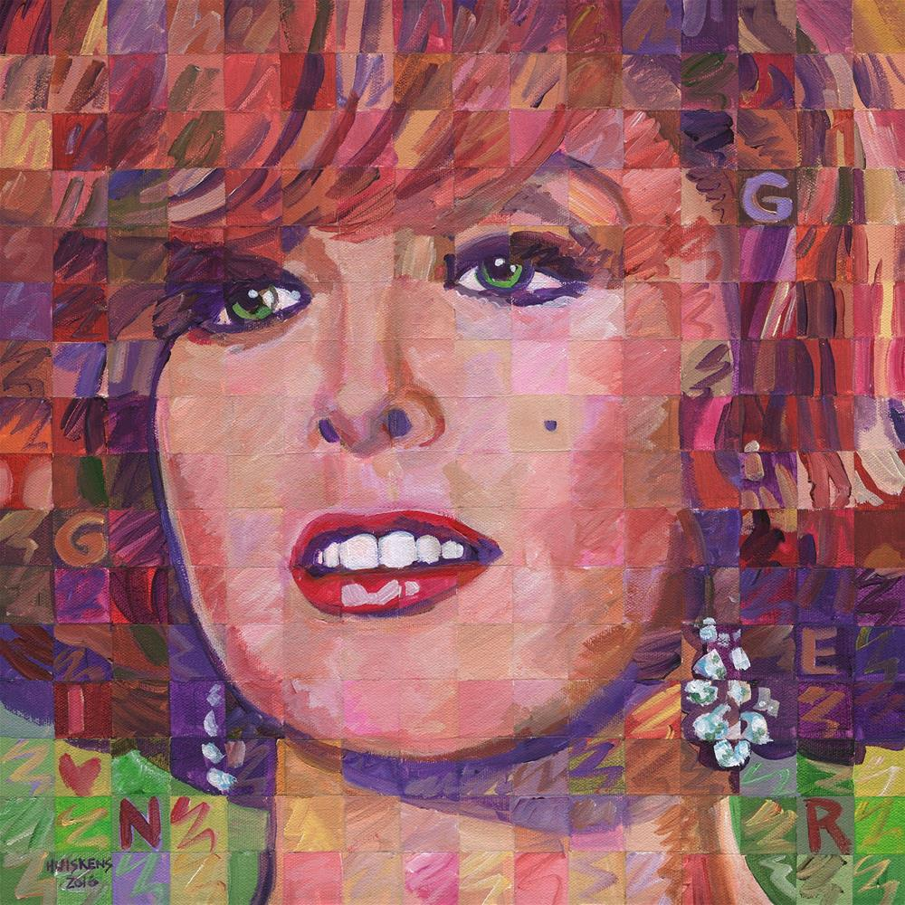 """Ginger (Gilligan's Island)"" original fine art by Randal Huiskens"