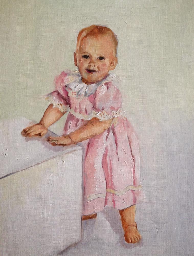 """Colette - SOLD"" original fine art by Marcia Hodges"