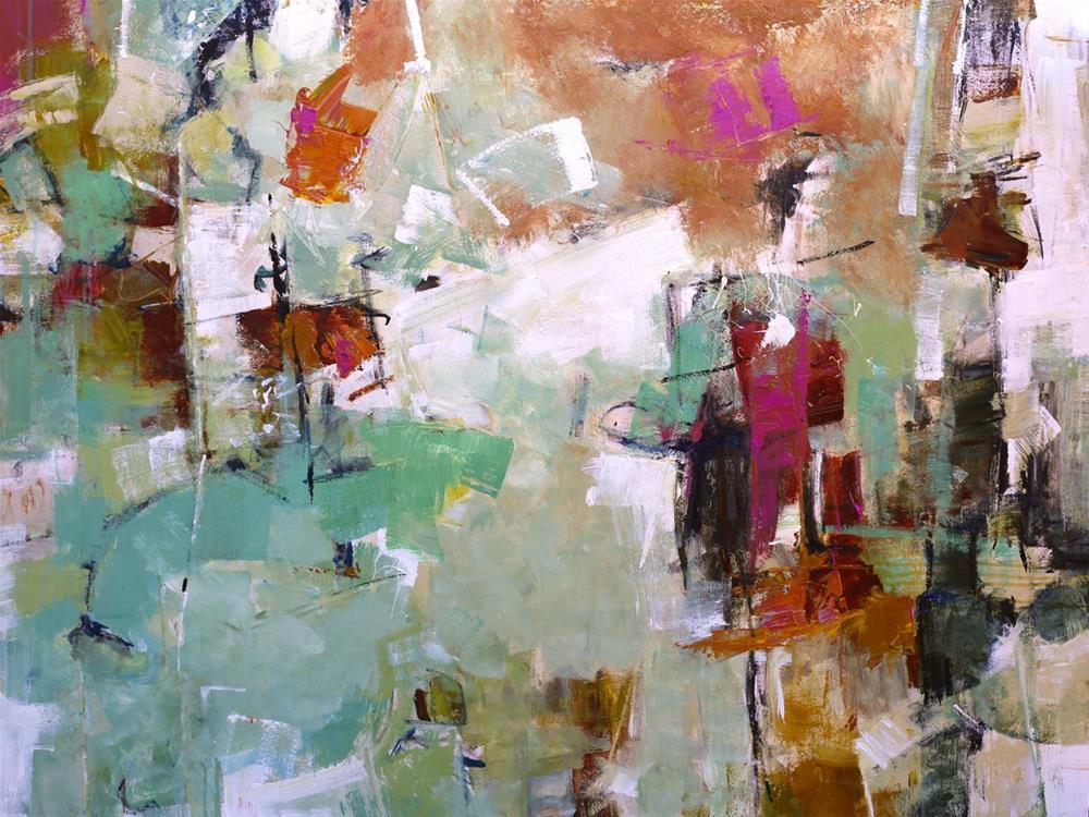 """""""Outflow"""" original fine art by Elizabeth Chapman"""