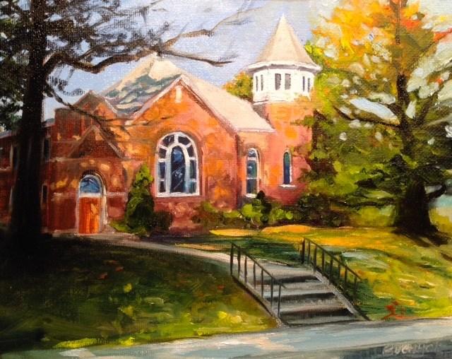 """""""October Morning"""" original fine art by Terri Buchholz"""