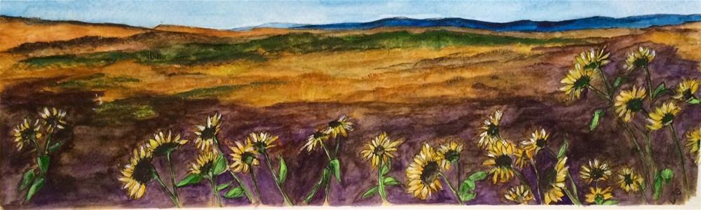 """Colorado Hike  NFS"" original fine art by Nancy Beard"