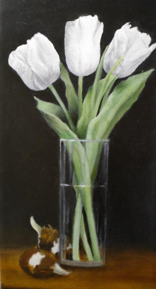 """Forgotten Bulbs"" original fine art by Hilarie Johnson"