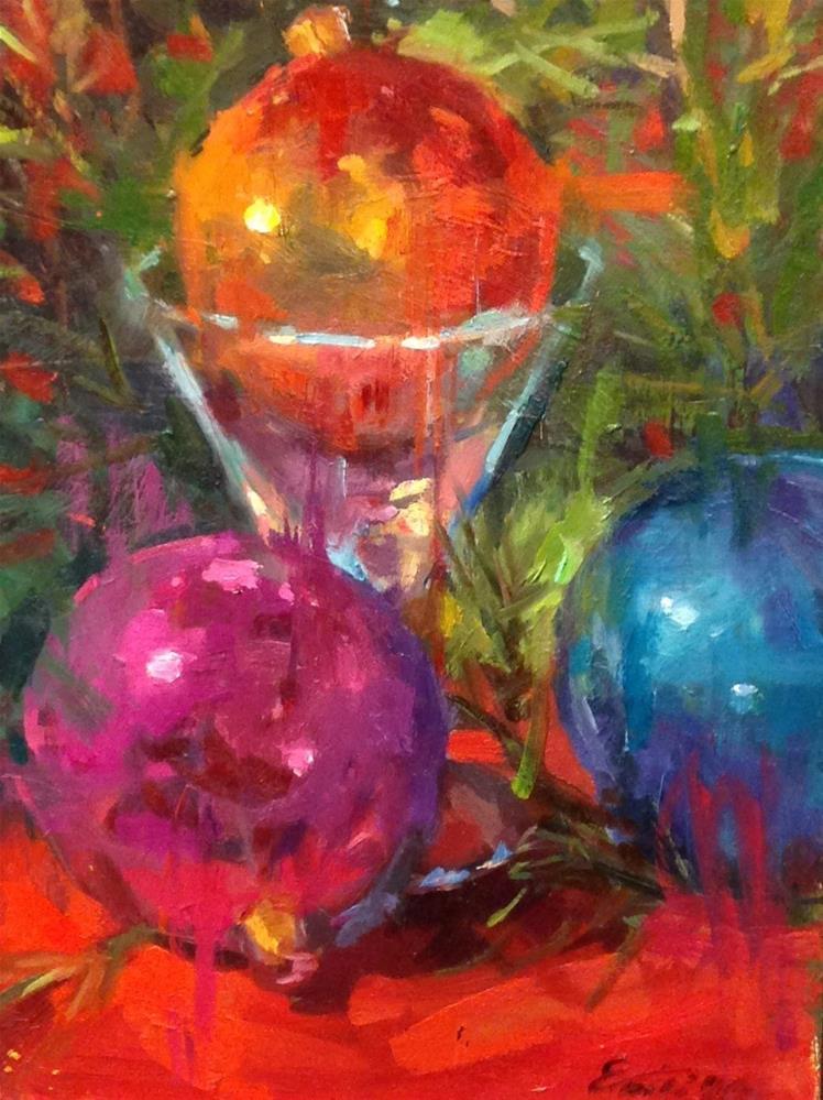 """""""Hint of Joy"""" original fine art by Emiliya Lane"""