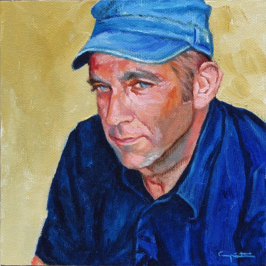 """Juan"" original fine art by Eduardo Carpintero"