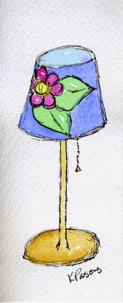 """Shedding a Little Light on Things"" original fine art by Kali Parsons"