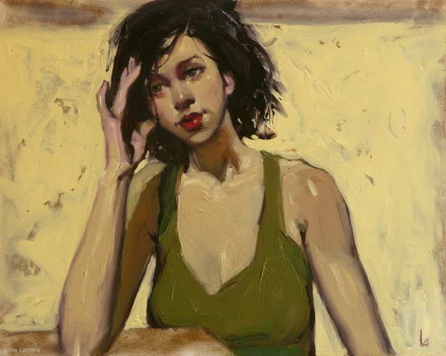"""Delay"" original fine art by John Larriva"