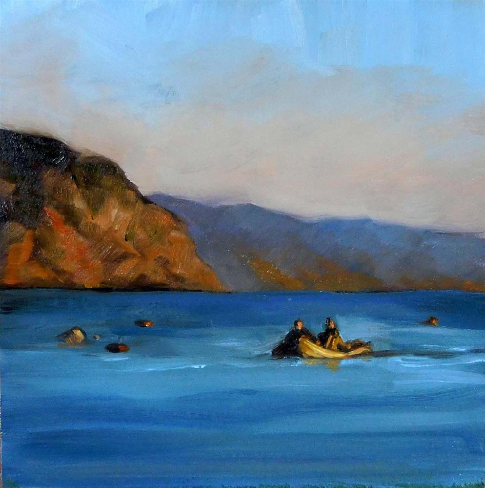 """Coming In"" original fine art by Cietha Wilson"