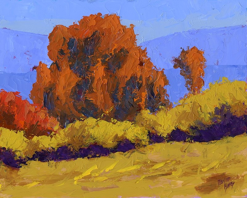 """Autumn Dance"" original fine art by David King"