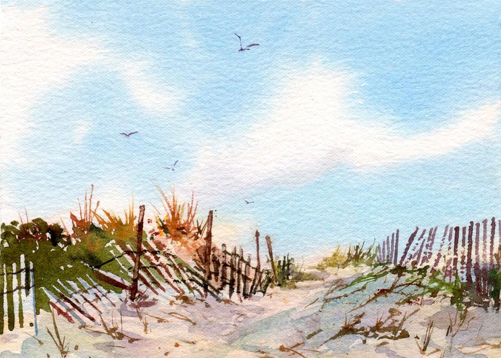 """Summer Days"" original fine art by Linda Henry"