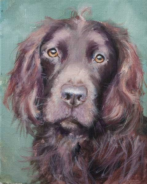 """PAINT MY DOG Series #30"" original fine art by Clair Hartmann"