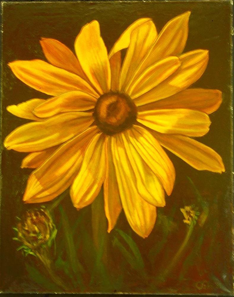 """Gloriosa Daisy"" original fine art by Carol Sakai"