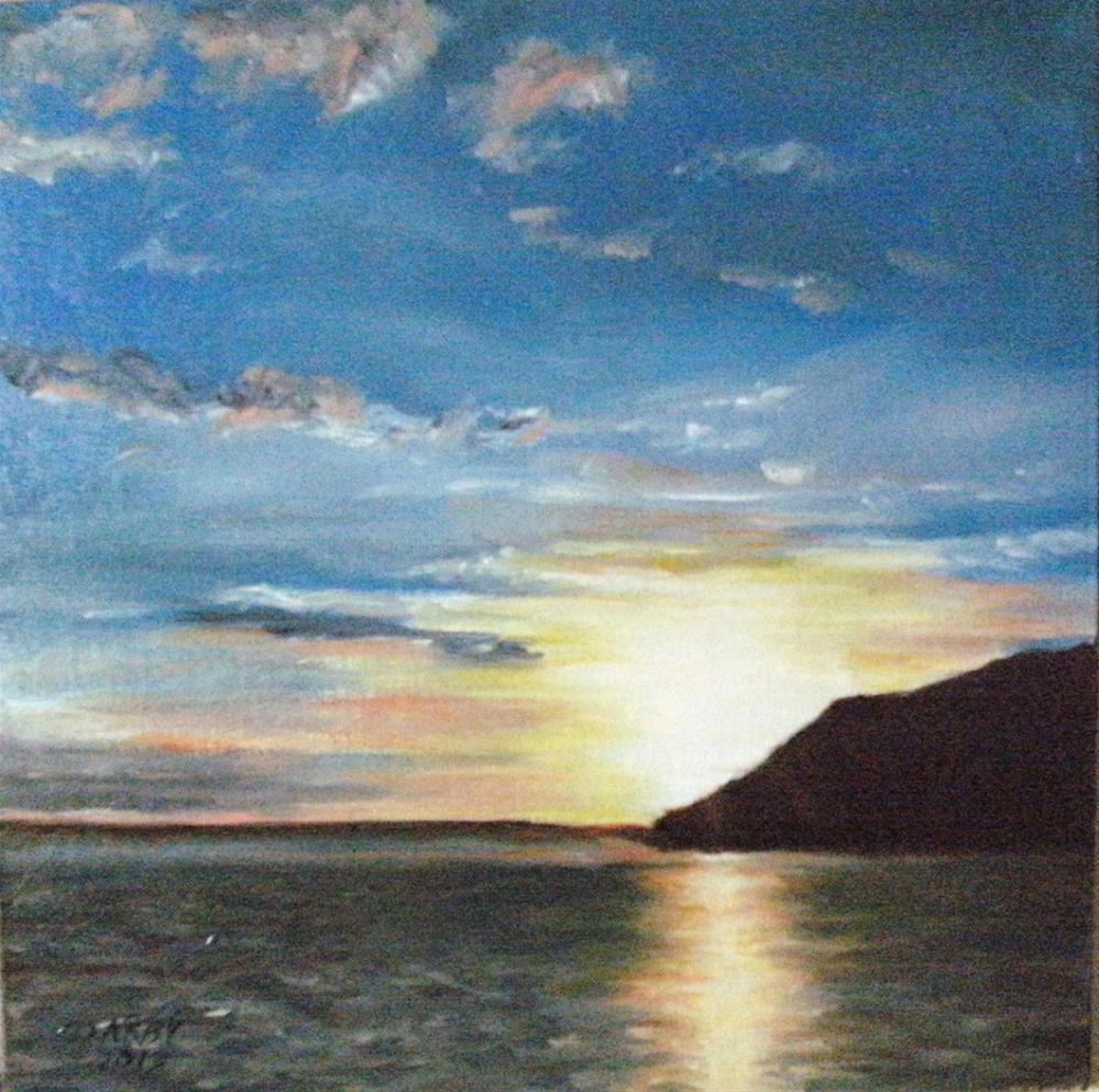 """""""Breaking Morn"""" original fine art by Lynn Darby"""