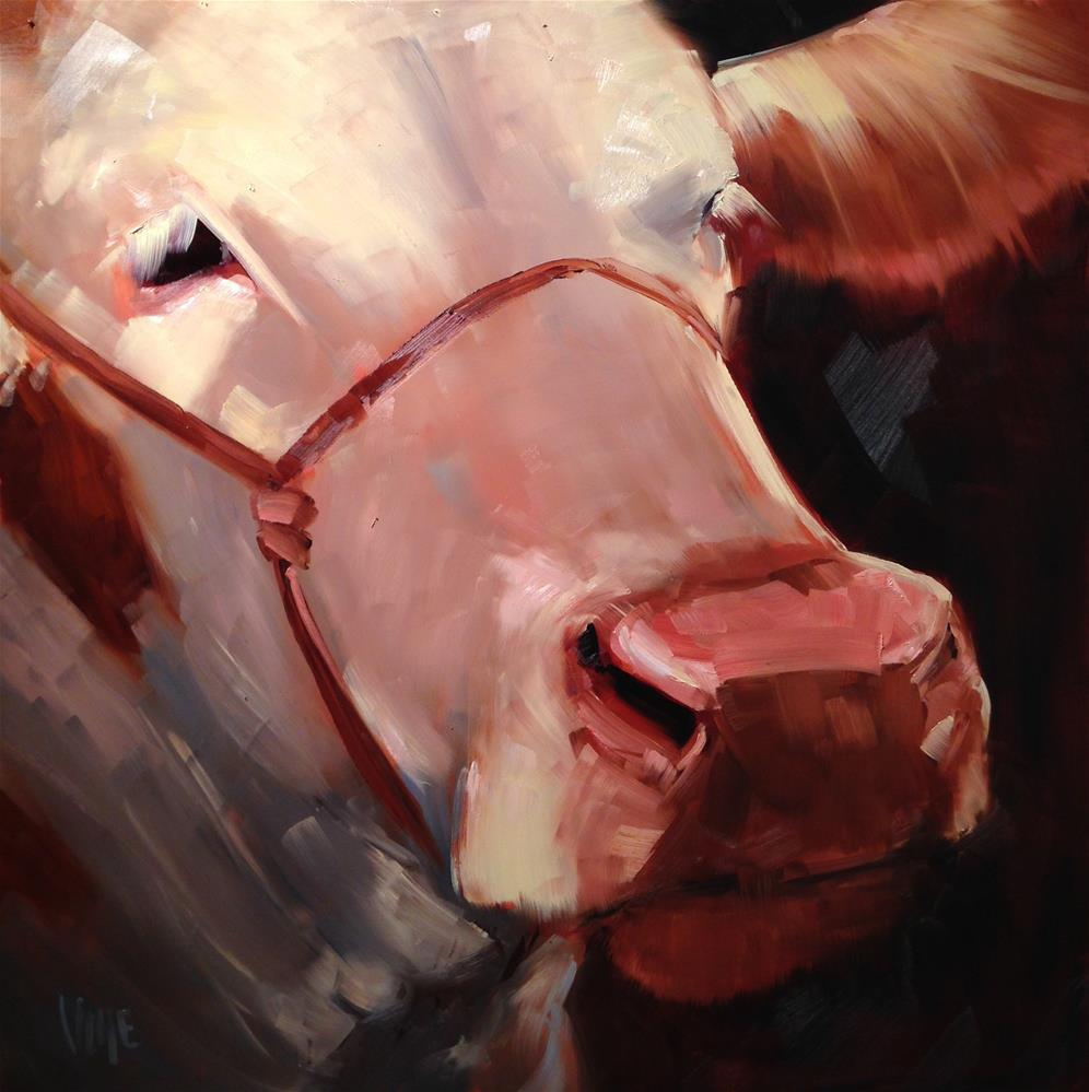 """#252 4H Champion (big)"" original fine art by Patty Voje"