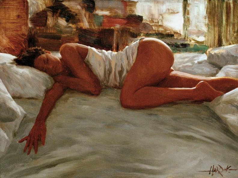 """Weekend Getaway"" original fine art by Scott Harding"