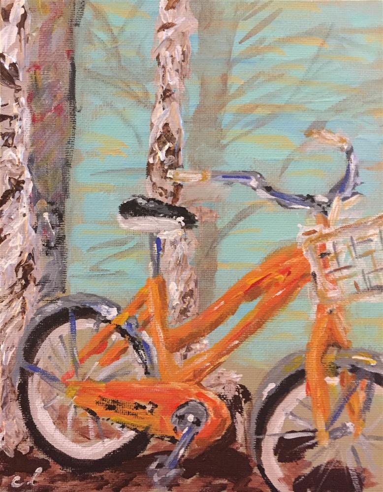 """CB Townie"" original fine art by Cheree Apalona Lueck"