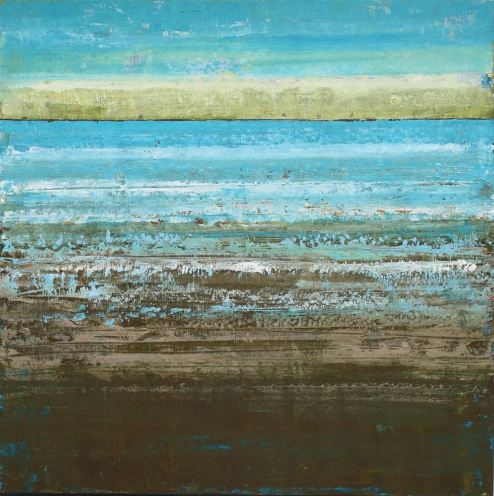 """""""Wet Sand Beach"""" original fine art by Sage Mountain"""