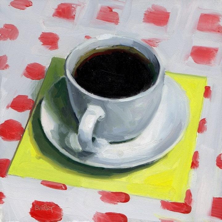 """""""#284 Vintage Espresso"""" original fine art by Brian Burt"""