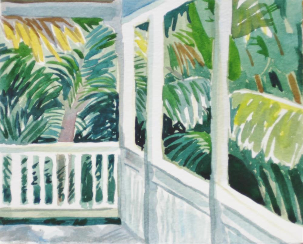 """""""South View"""" original fine art by Priscilla Bohlen"""