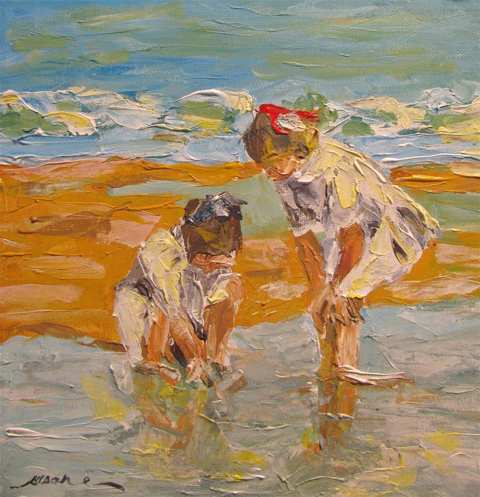 """Study of e.h. potthast's In the Surf"" original fine art by Susan Elizabeth Jones"