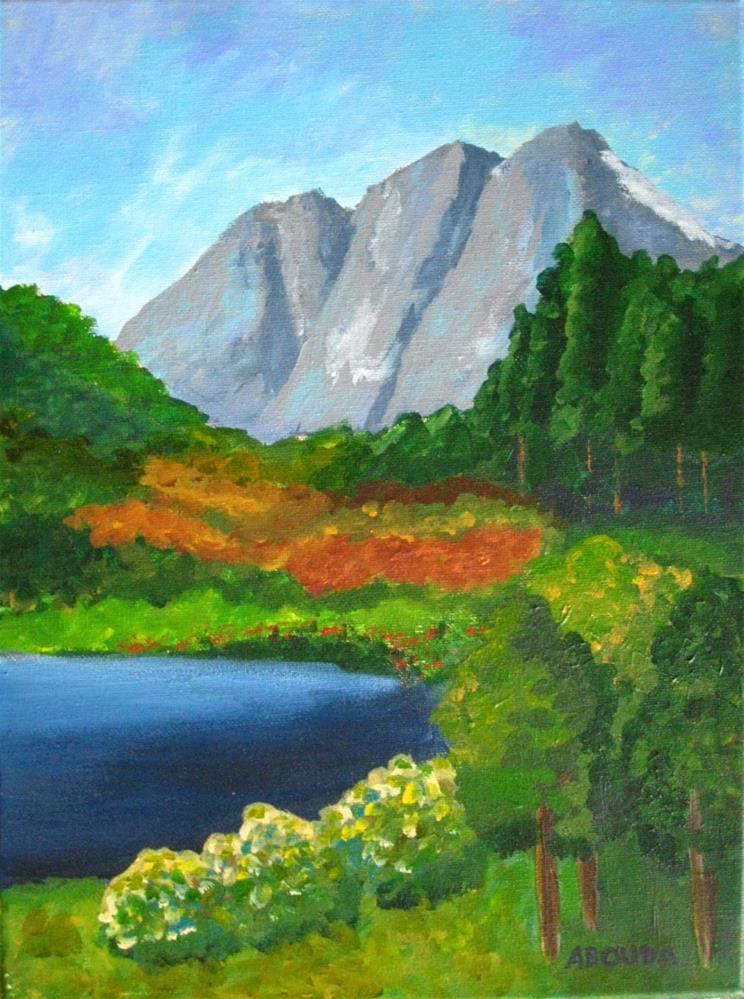 """Mountain Belles"" original fine art by Sandy Abouda"
