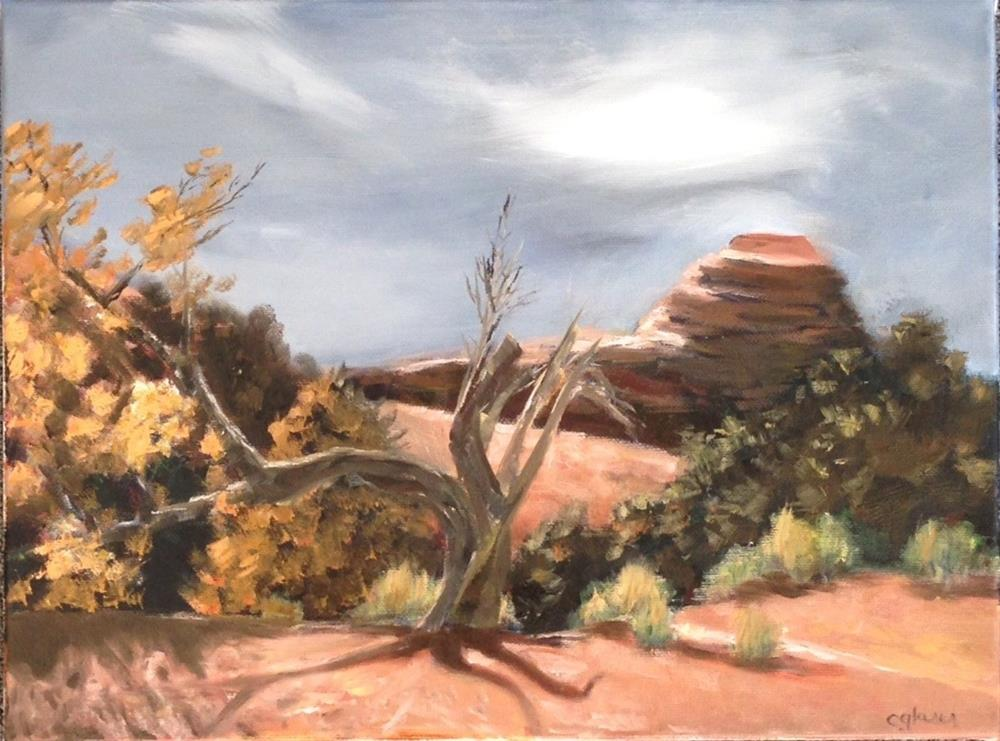 """Somewhere Outside Moab"" original fine art by christina glaser"