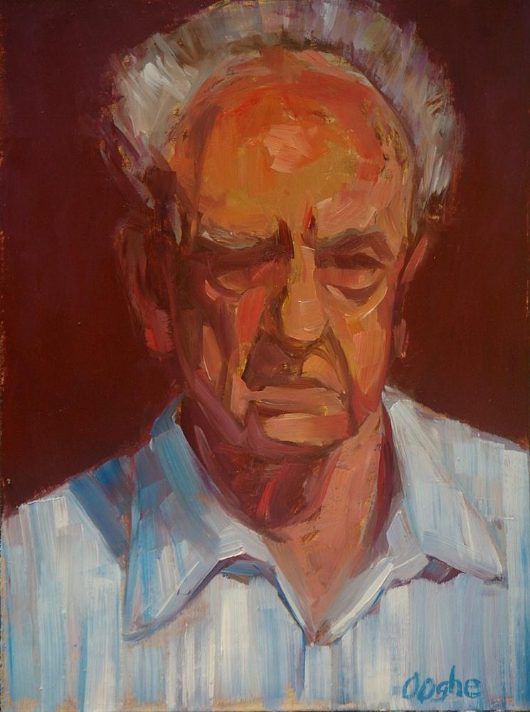 """Portrait of a Man"" original fine art by Angela Ooghe"