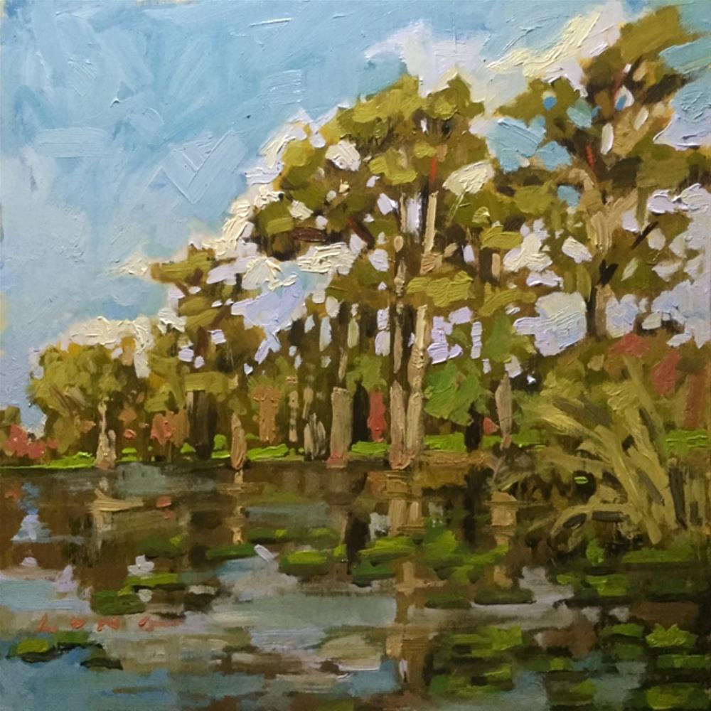 """Mississippi"" original fine art by Chris Long"