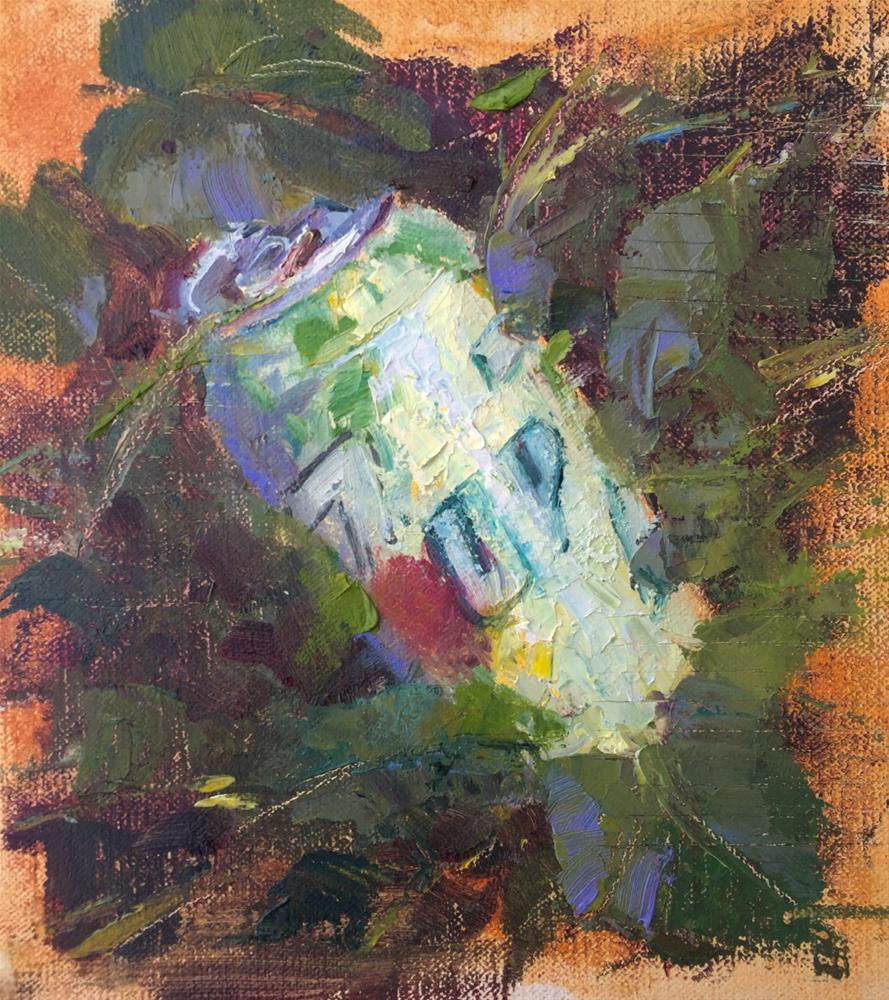 """""""Seven-Up'd"""" original fine art by Johanna Spinks"""