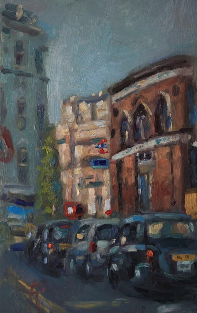 """South Kensington"" original fine art by Andre Pallat"