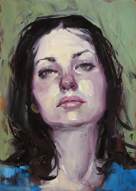 """Listless"" original fine art by John Larriva"