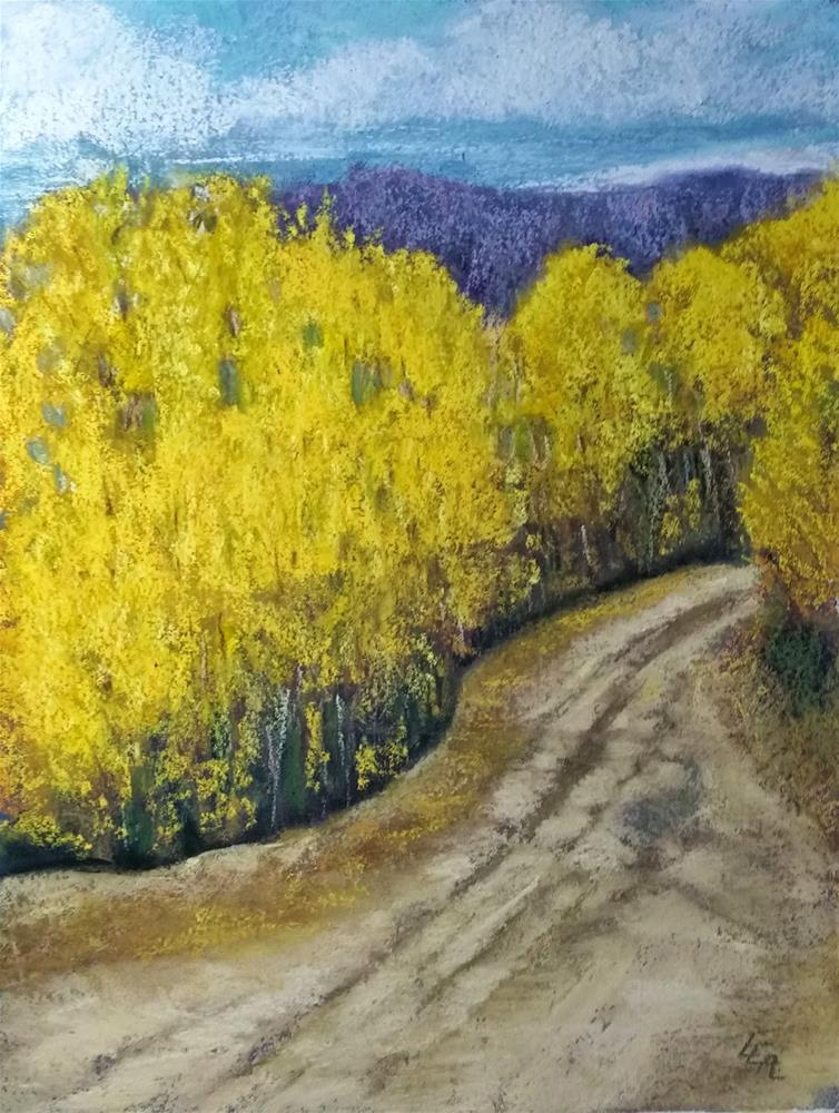 """A Road with No Name"" original fine art by Anna Lisa Leal"