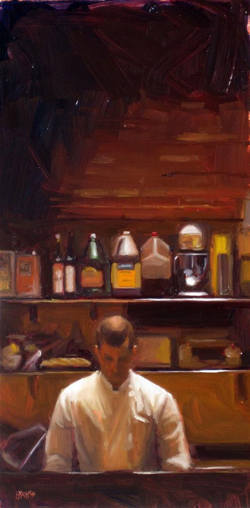 """kitchen cloister"" original fine art by Dan Graziano"