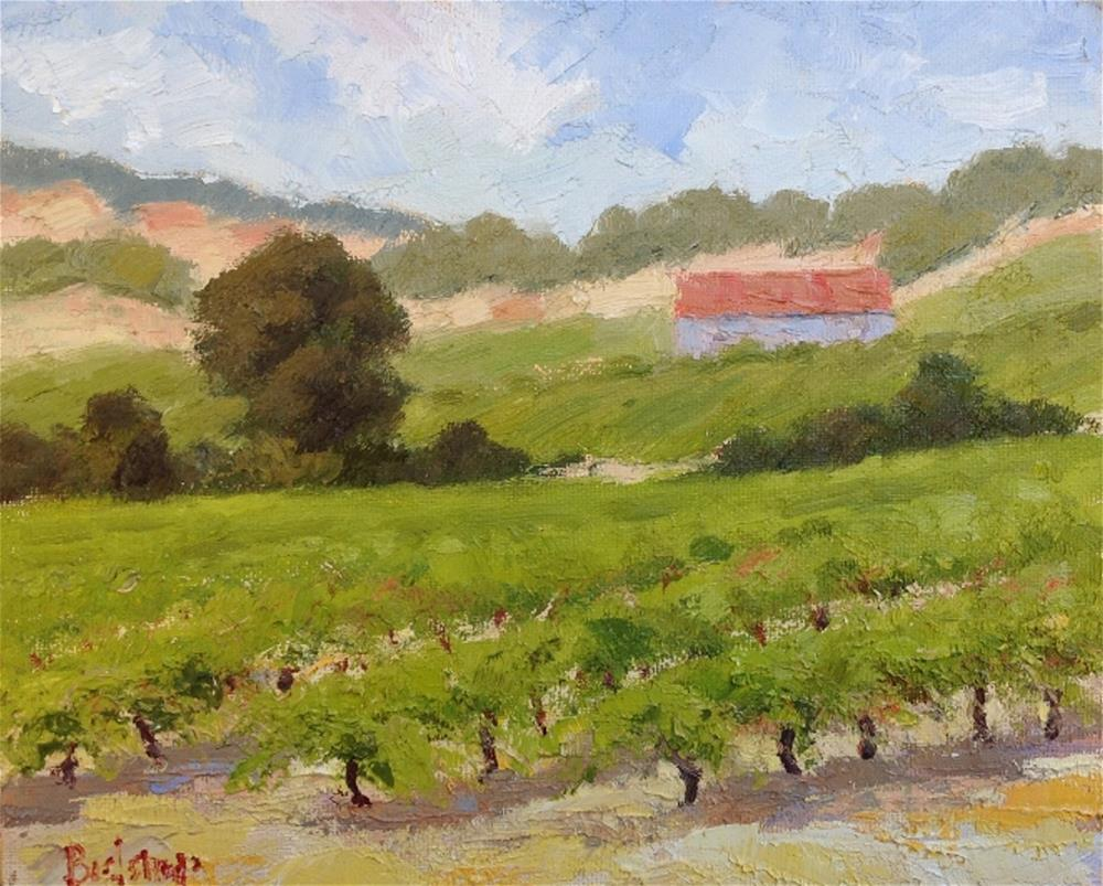 """Old Sonoma Vines"" original fine art by Mark Bidstrup"