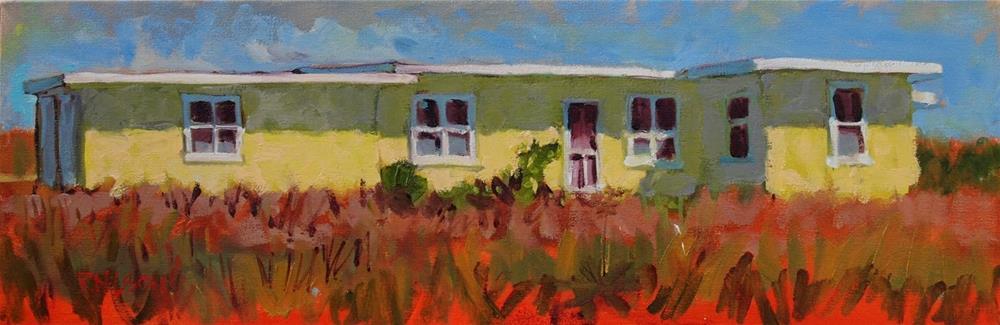 """Dear Landlord"" original fine art by Rick Nilson"